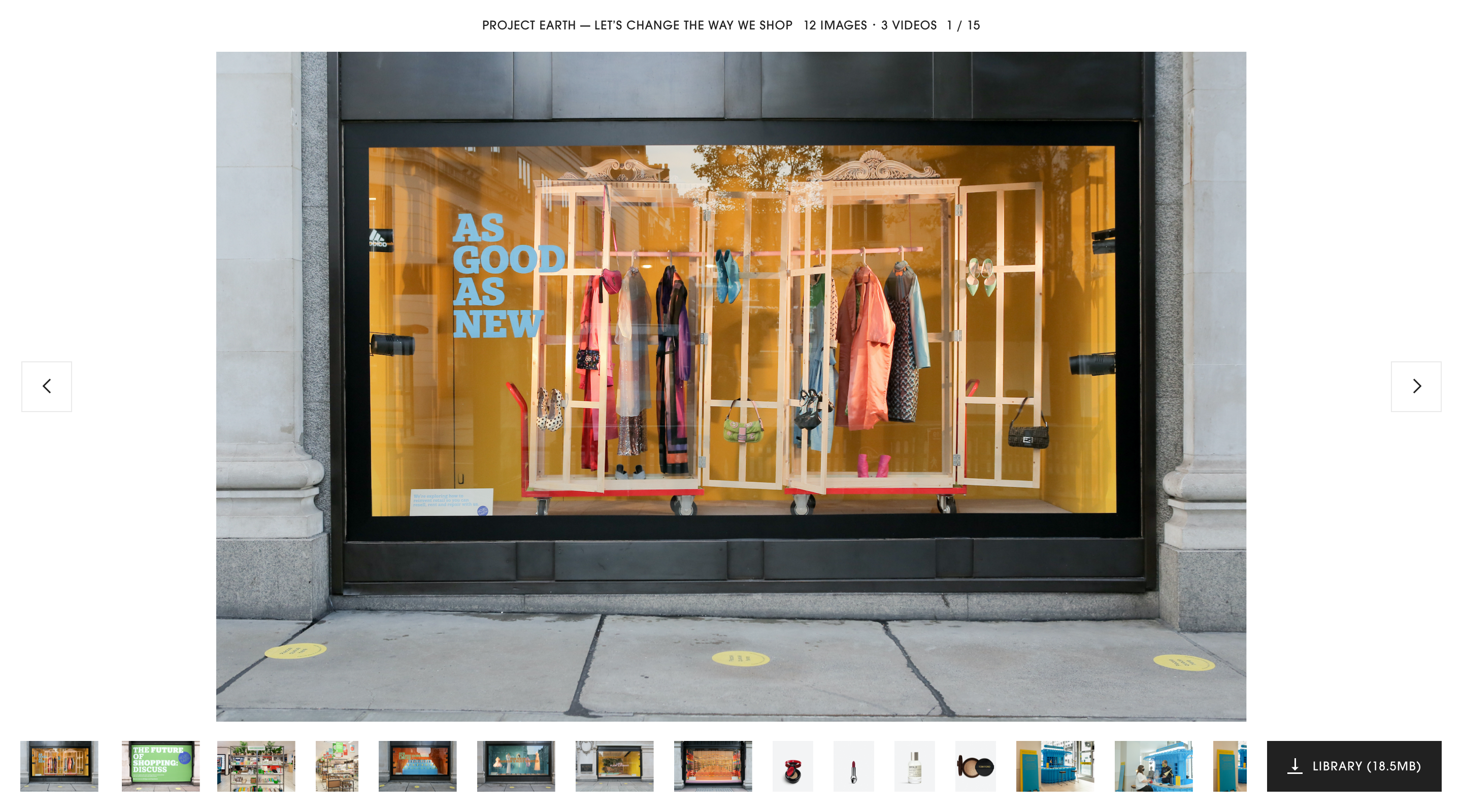 website, press-site, typography, user experience, user interface,art-direction